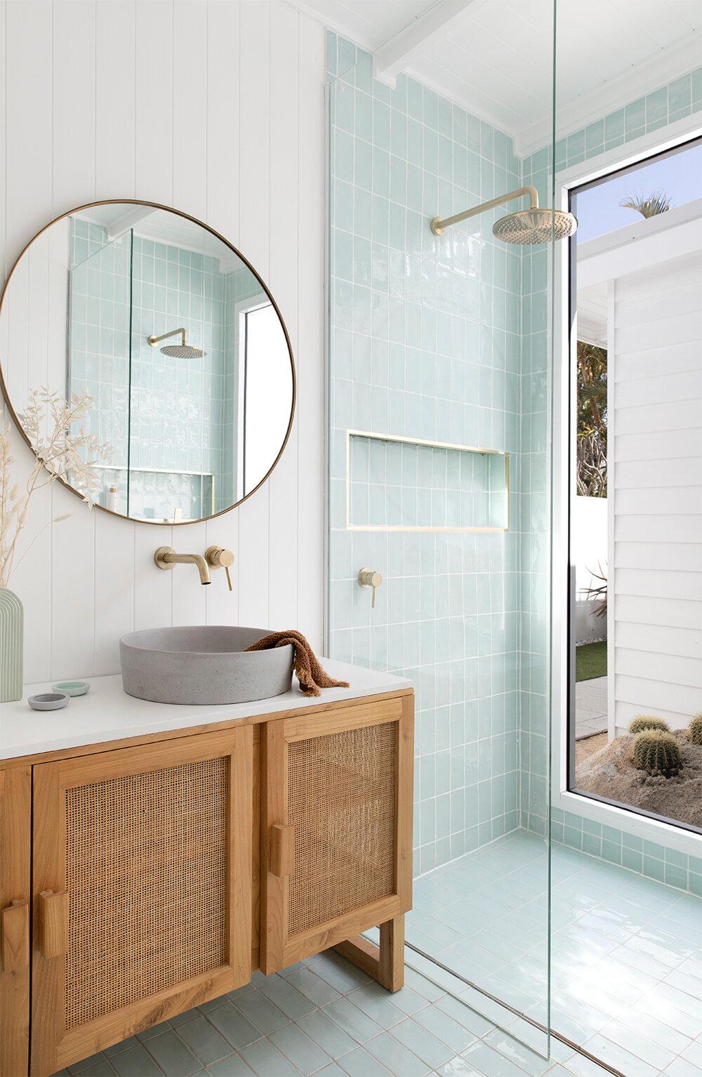 California Dreaming Bathroom — Adore Home Magazine
