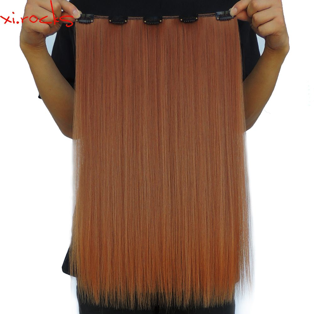 piecelot xicks clip in hair extension inch synthetic hair