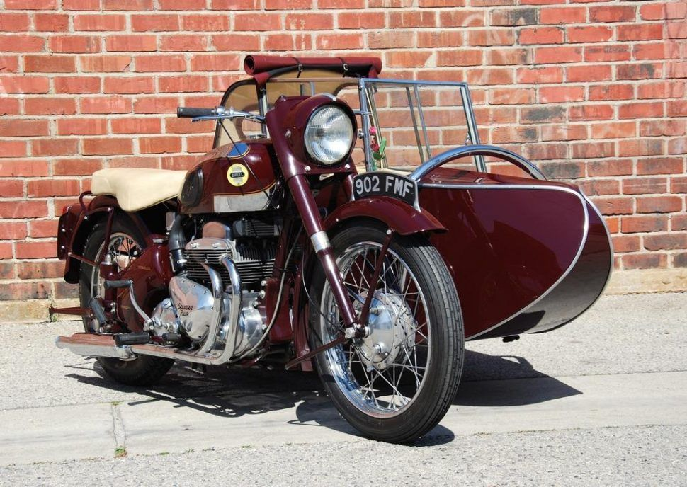 Motorcycles at the Amelia Island Concours d'Elegance