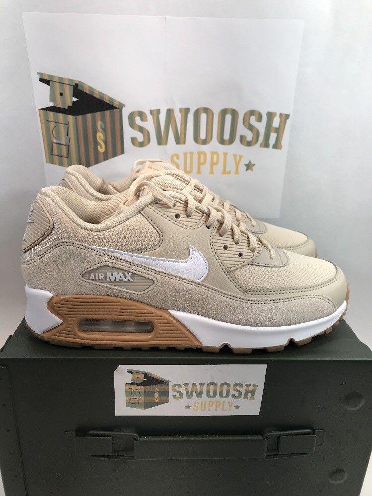 Nike Air Max 90 325213 128 Oatmeal White Gum Light Brown Wmn