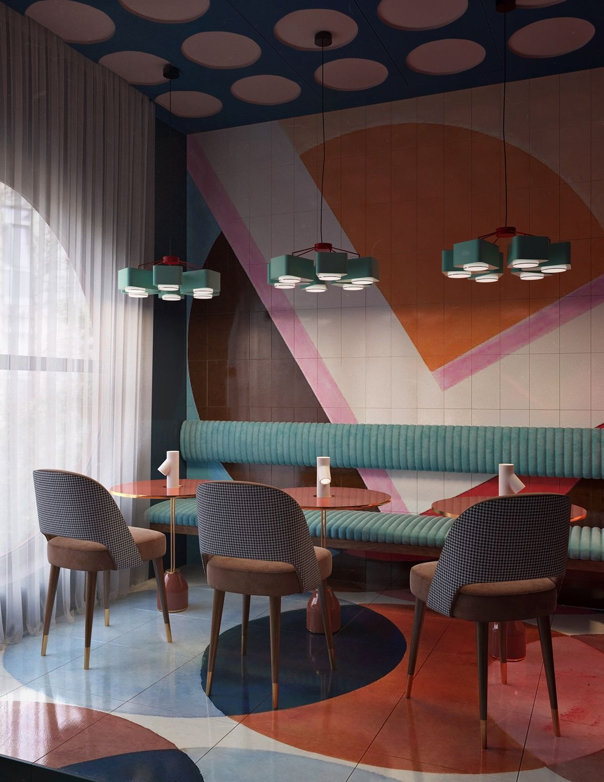 Best Hotel decoration and lighting ideas with a mid-century touch to ...