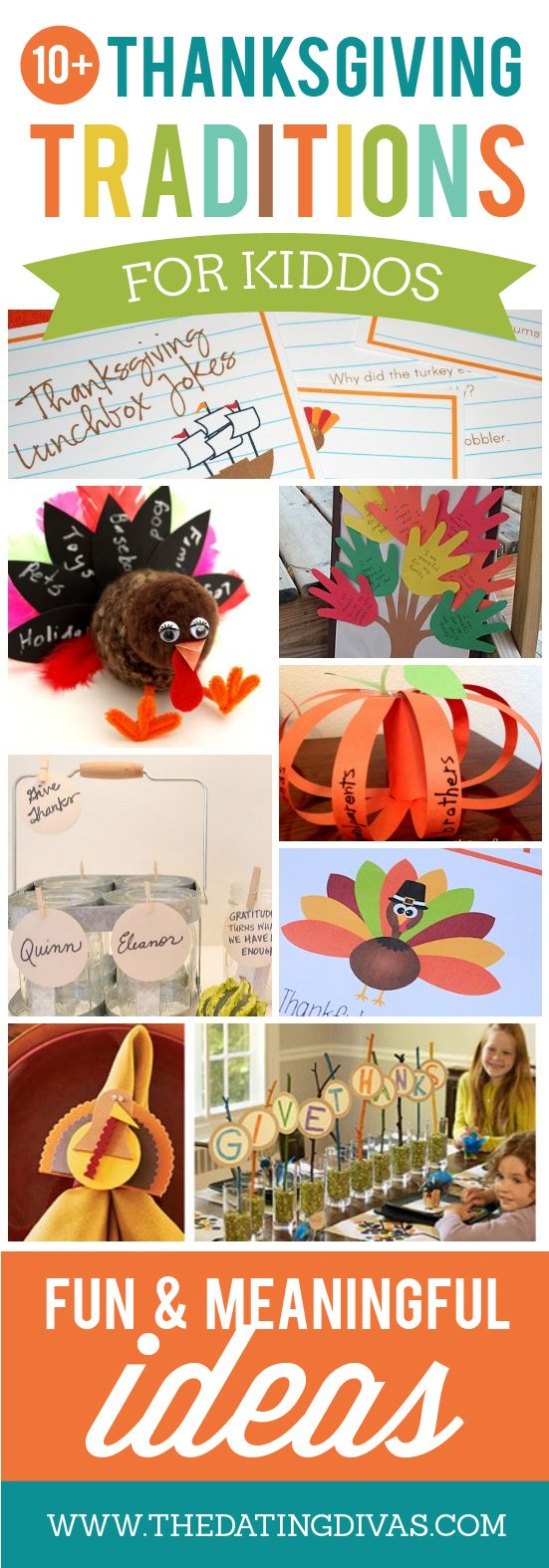 Thanksgiving Traditions and Ideas for Family - From The Dating Divas
