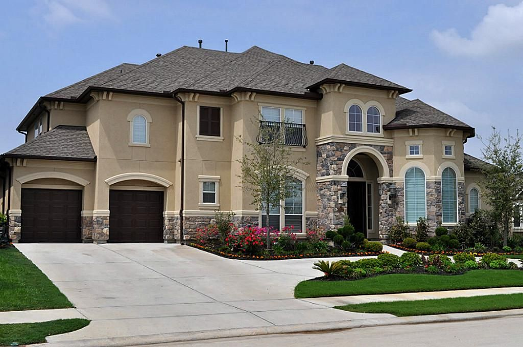 10127 winding glen dr katy 77494 8575 home value har for Stone and stucco house plans
