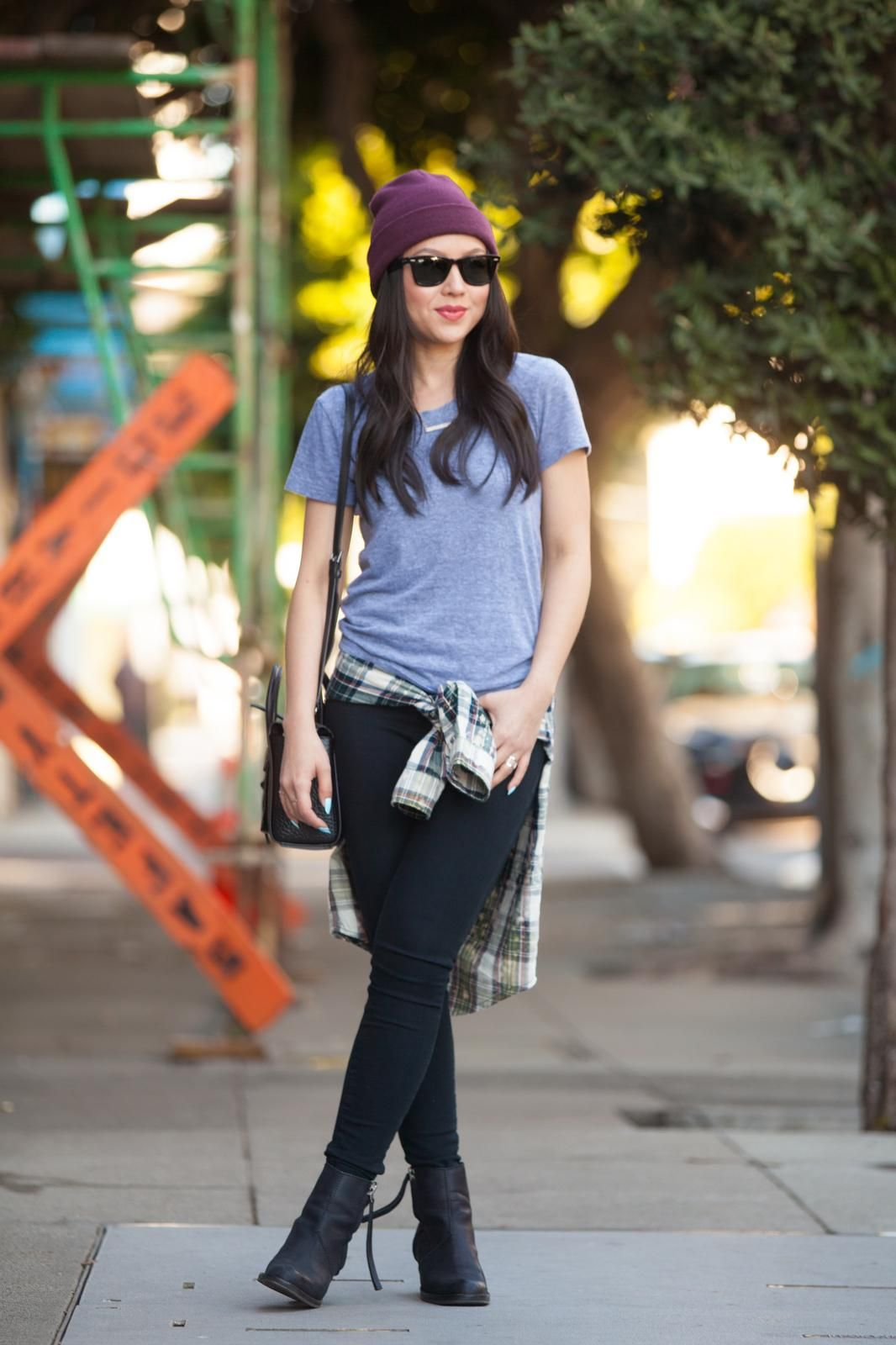 Tomboy is a fashionable style of a tomboy girl