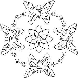 Mandala Malvorlage Sommer Malvorlagen Mandalas Zum Ausdrucken