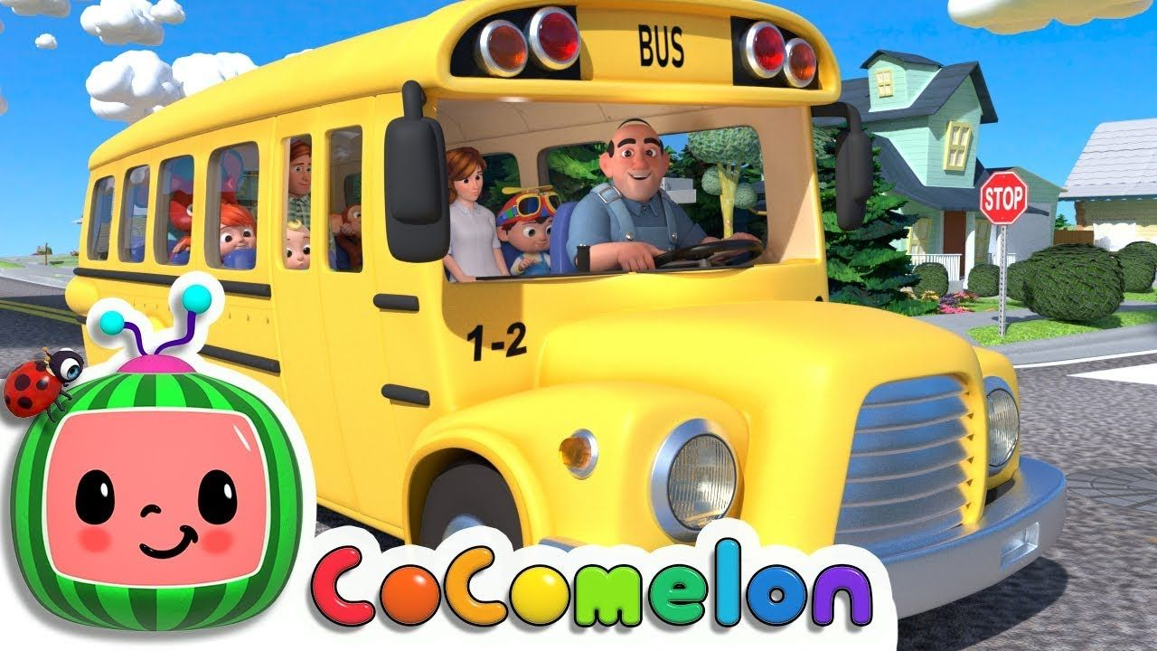 Wheels On The Bus Cocomelon Abckidtv Nursery Rhymes Kids