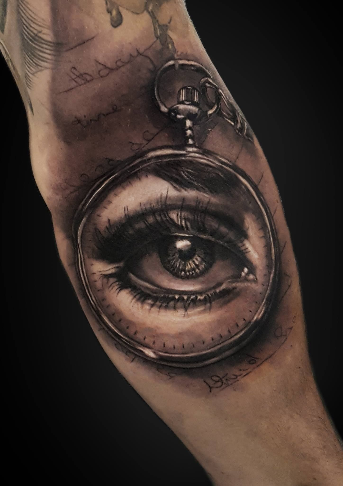 Stefan marcu specialises in black and grey realism tattoos for Best realism tattoo artist near me