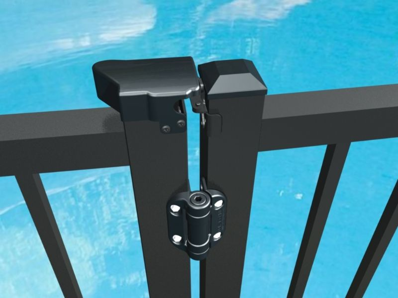 The World Leader In Pool Gate Latching Is The Trilatch Triple