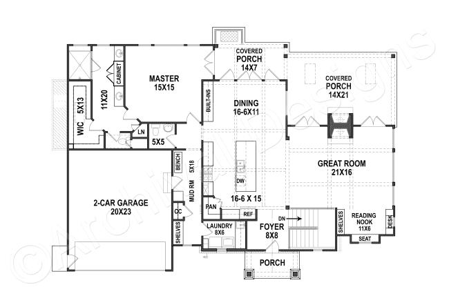 Lake View Cottage Daylight Basement Floor House Plan First Floor Plan Basement Layout Basement Floor Plans Basement Flooring