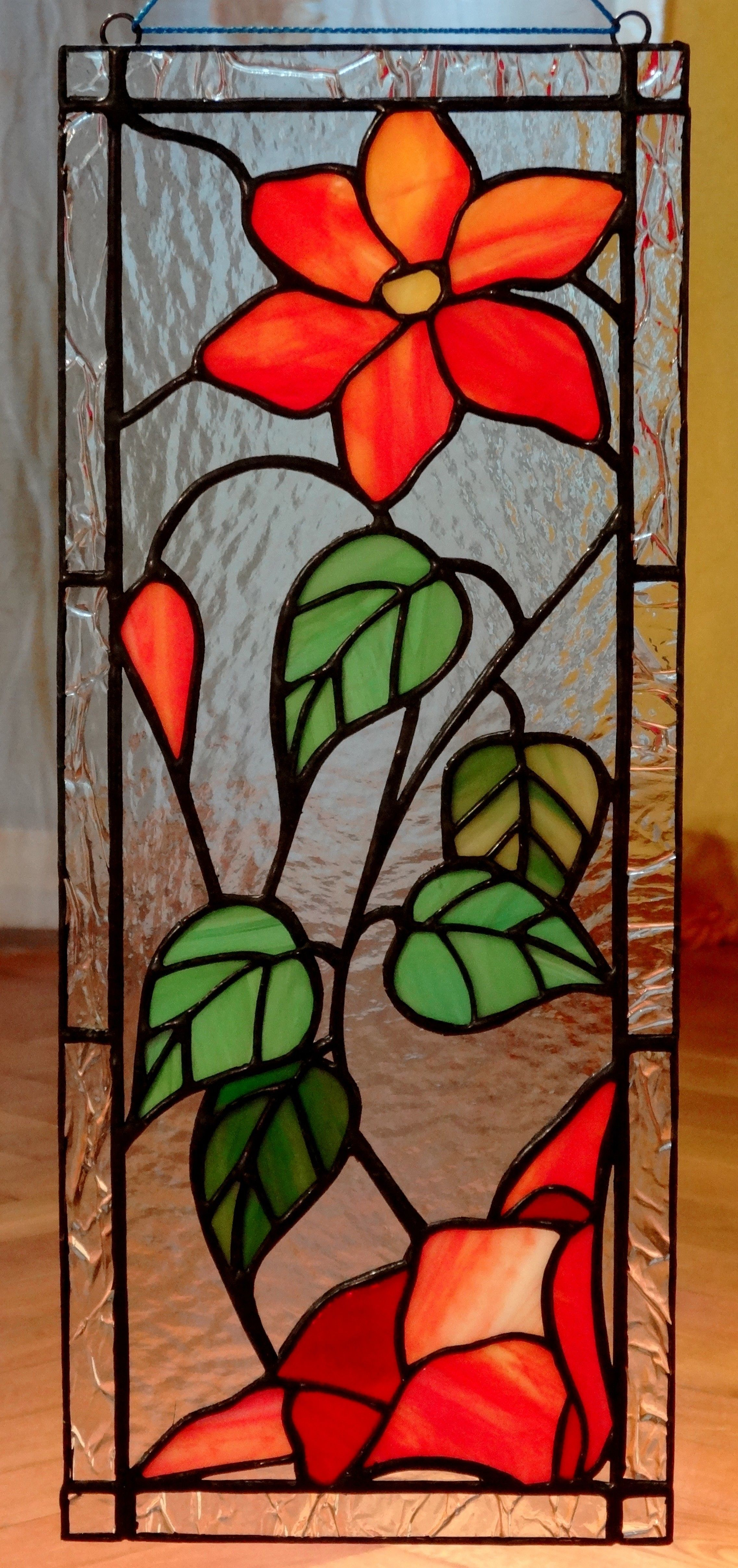 Stained Glass Flower A...