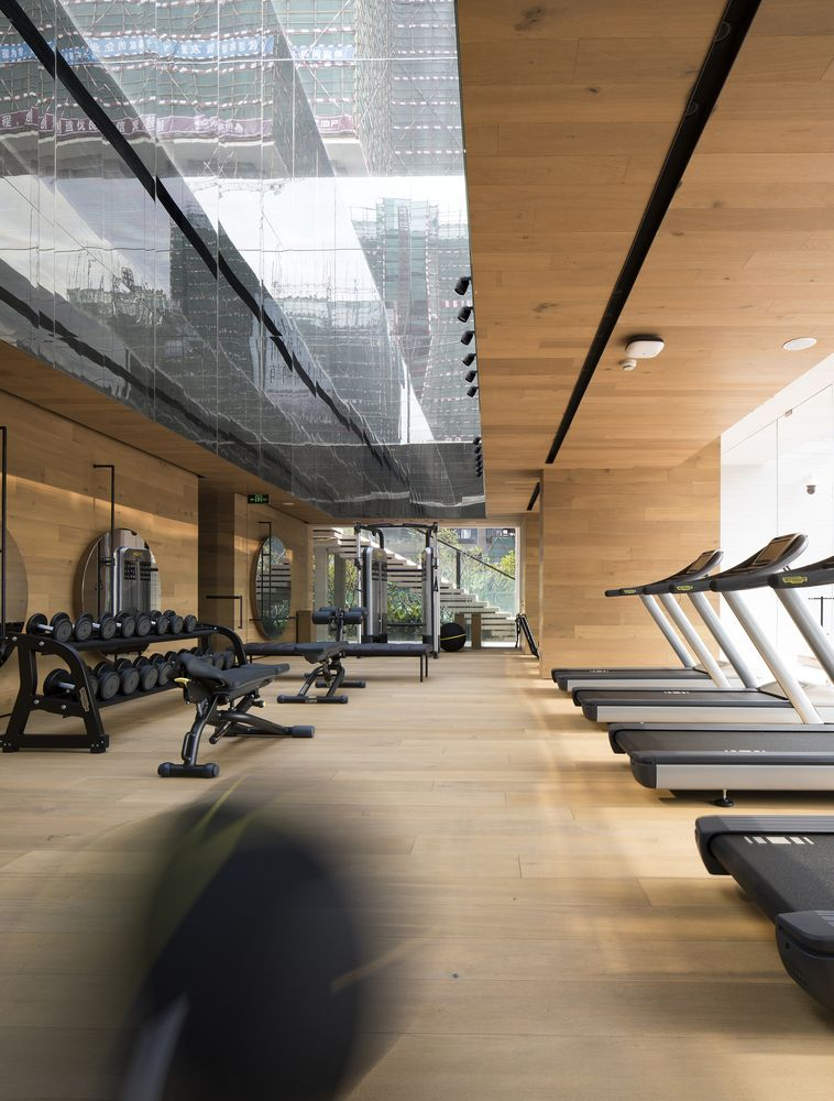 Interior Design Ideas For Home Gym: Gallery Of Sky Club House / DOMANI - 24 In 2020
