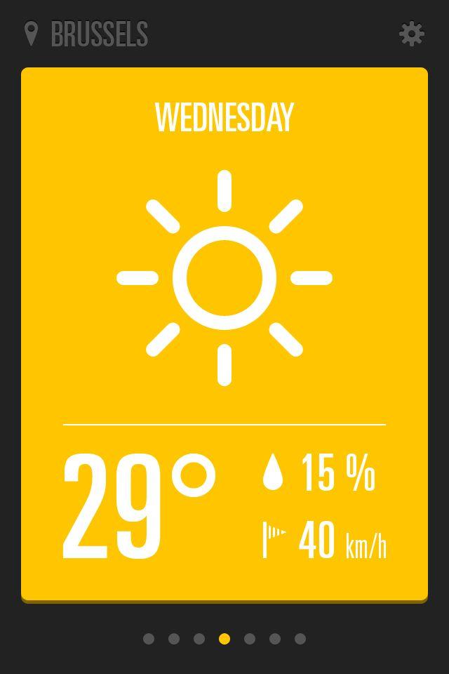 Weatherappsunny