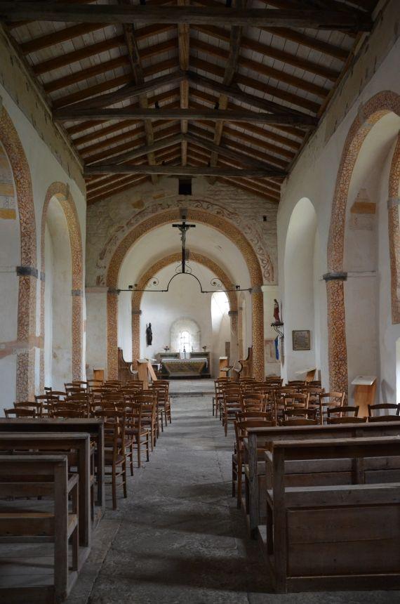 Chapelle Saint-Martin-les-Périls. Montrottier. Rhône-Alpes