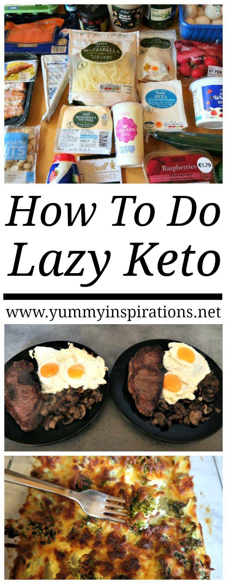 lazy mans keto diet