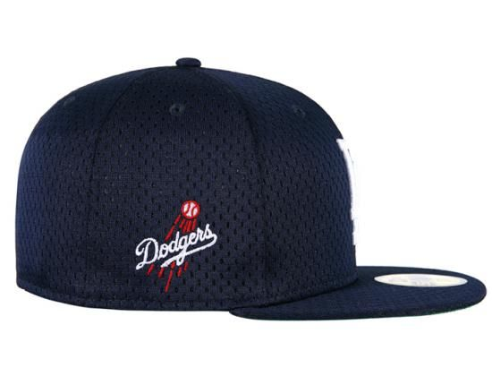 los angeles dodgers jersey mesh 59fifty fitted baseball cap new era ... 488777f4b243