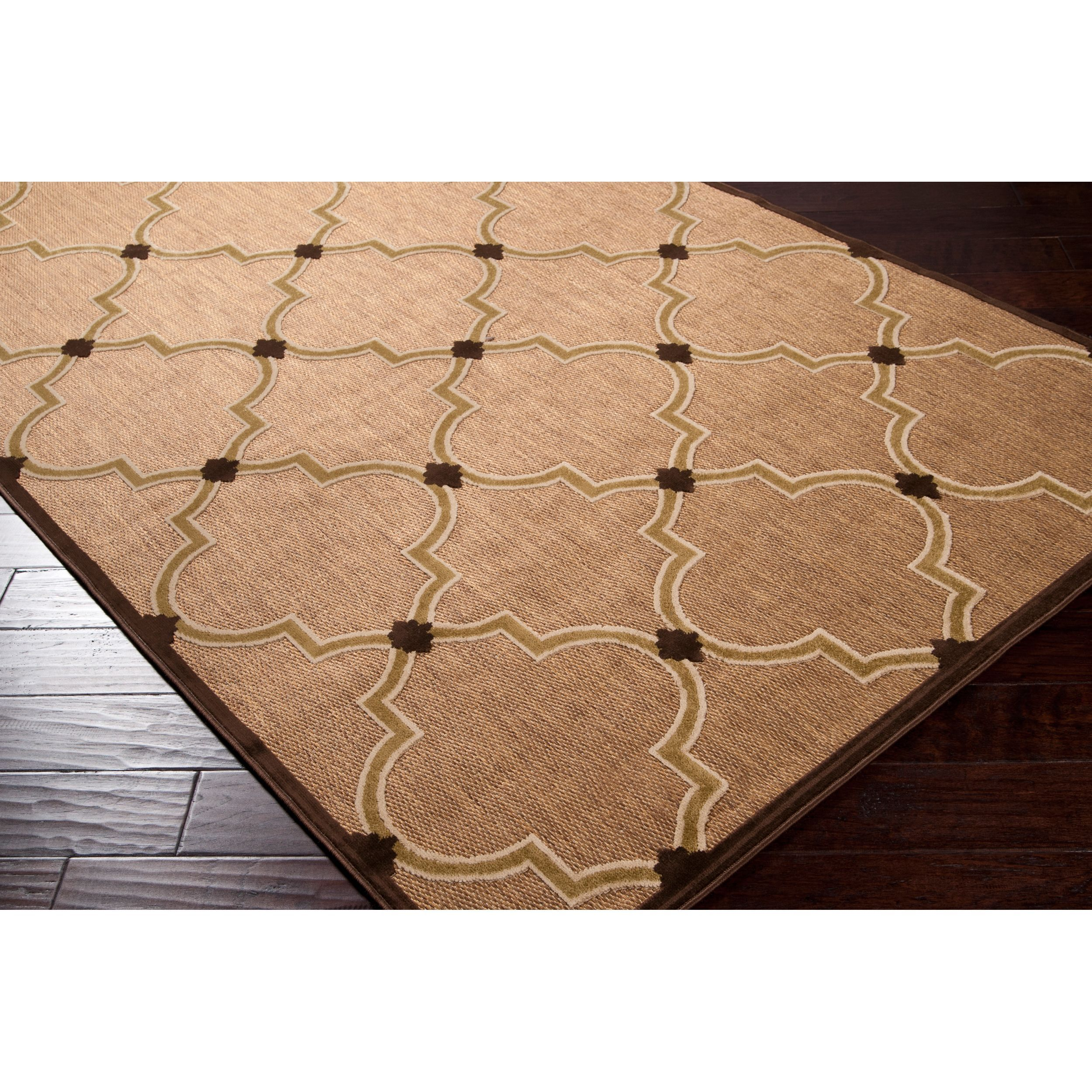 This indoor/ outdoor rug is the perfect addition for your patio or ...
