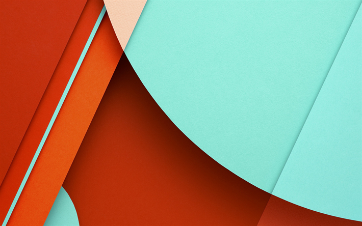 Download Wallpapers 4k Android Material Design Lollipop Geometric Shapes Creative Geometry Colorful Background Besthqwallpapers Com Abstract Wallpaper Android Wallpaper Colorful Backgrounds