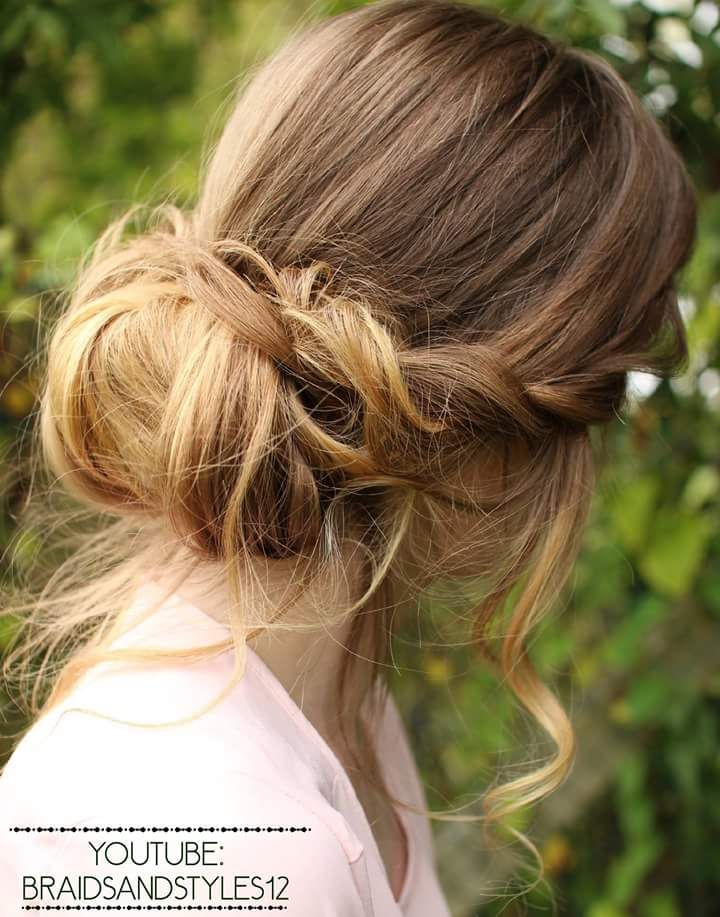 47 Messy Updo Hairstyles That You Can Wear Anytime Anywhere Messy