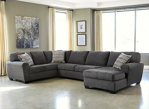Recliner Sofa The Francene piece sectional sofa features stylishly shaped set back arms along