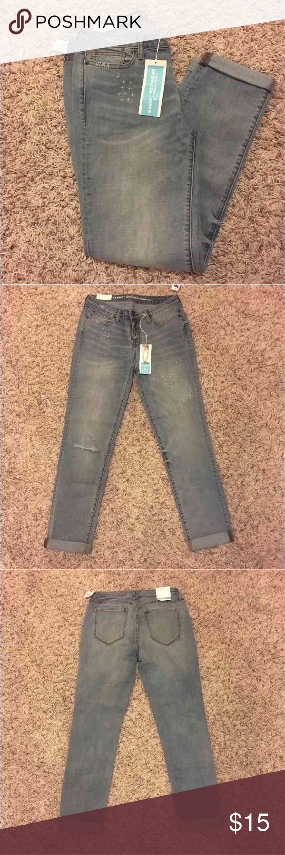 Old Navy Boyfriend Jeans New with tags size 4, very cute!! Old Navy Jeans Boyfriend