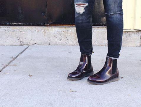 Dr Martens Flora Women S Arcadia Leather Chelsea Boots Boots Chelsea Boots Dr Martens Flora