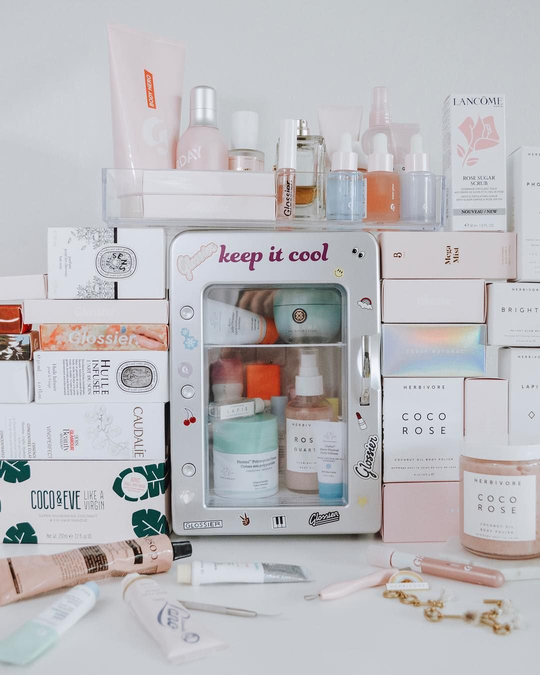 Would You Buy a Mini Fridge Just for Your Skin Care