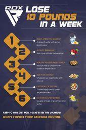 Wie man 10 Pfund in einer Woche verliert - Diätplan - #Diet #einer #man #Pfun ... - Eagle