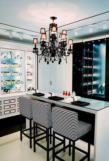 inside jo malone london s luxe new shop beauty room pinterest salon maquillage et id e. Black Bedroom Furniture Sets. Home Design Ideas