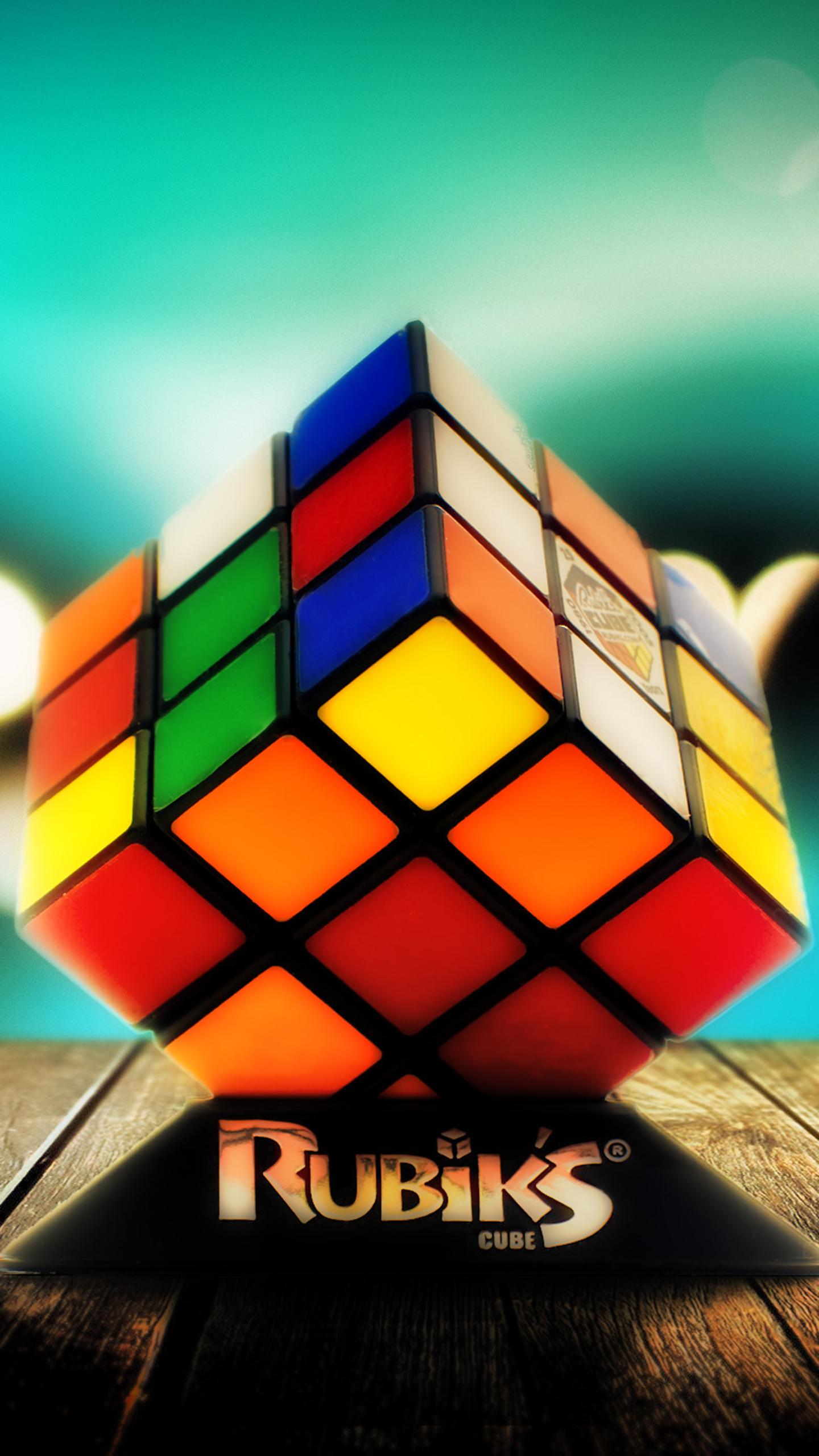 Rubiks Cube Figure Wallpaper D Wallpapers In 2019 Cube