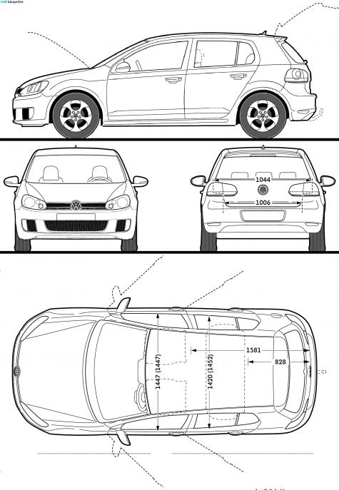 2009 Volkswagen Golf VI (Mk6/A6/5K) GTI 5-door Hatchback