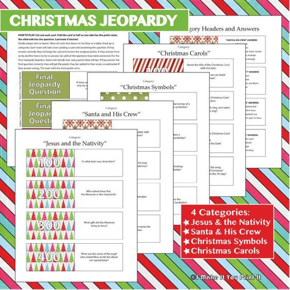 christmas song picture games for adults