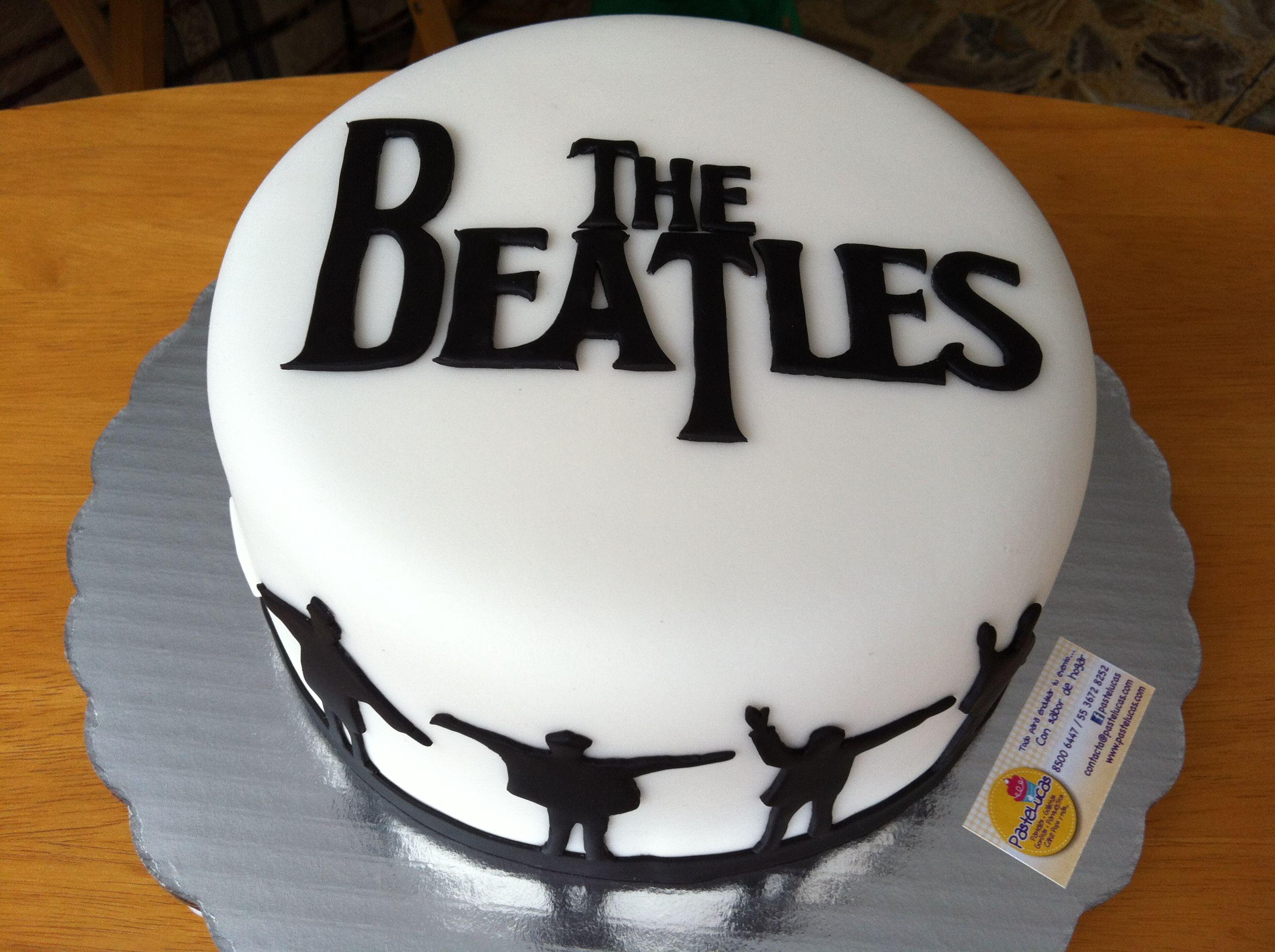 The Beatles Cake Cake Beatles Cake Music Cakes