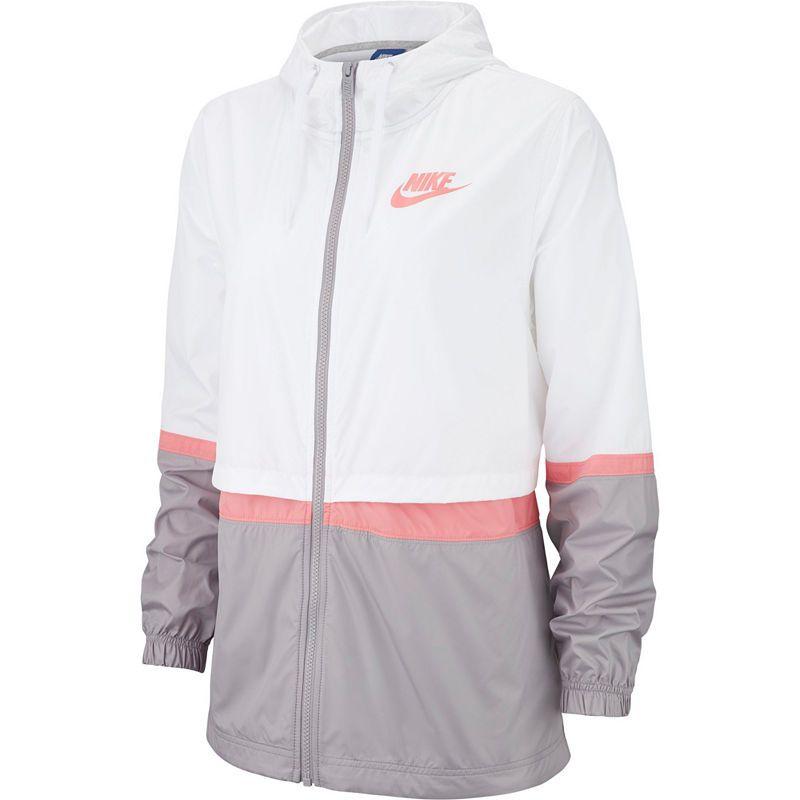 jacket, nike, rose gold, pink, black, raincoat, athletic