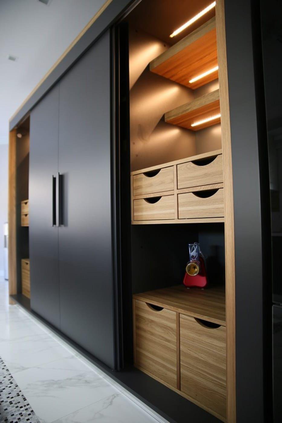 kitchen by aykuthall architectural interiors almeirahs wardrobe rh pinterest com