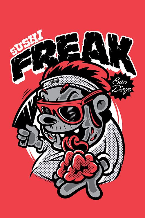 Sushi Freak By Thinkd