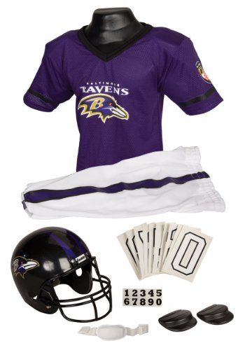 60f30397 Make a Baltimore Ravens Halloween costume with the following items ...