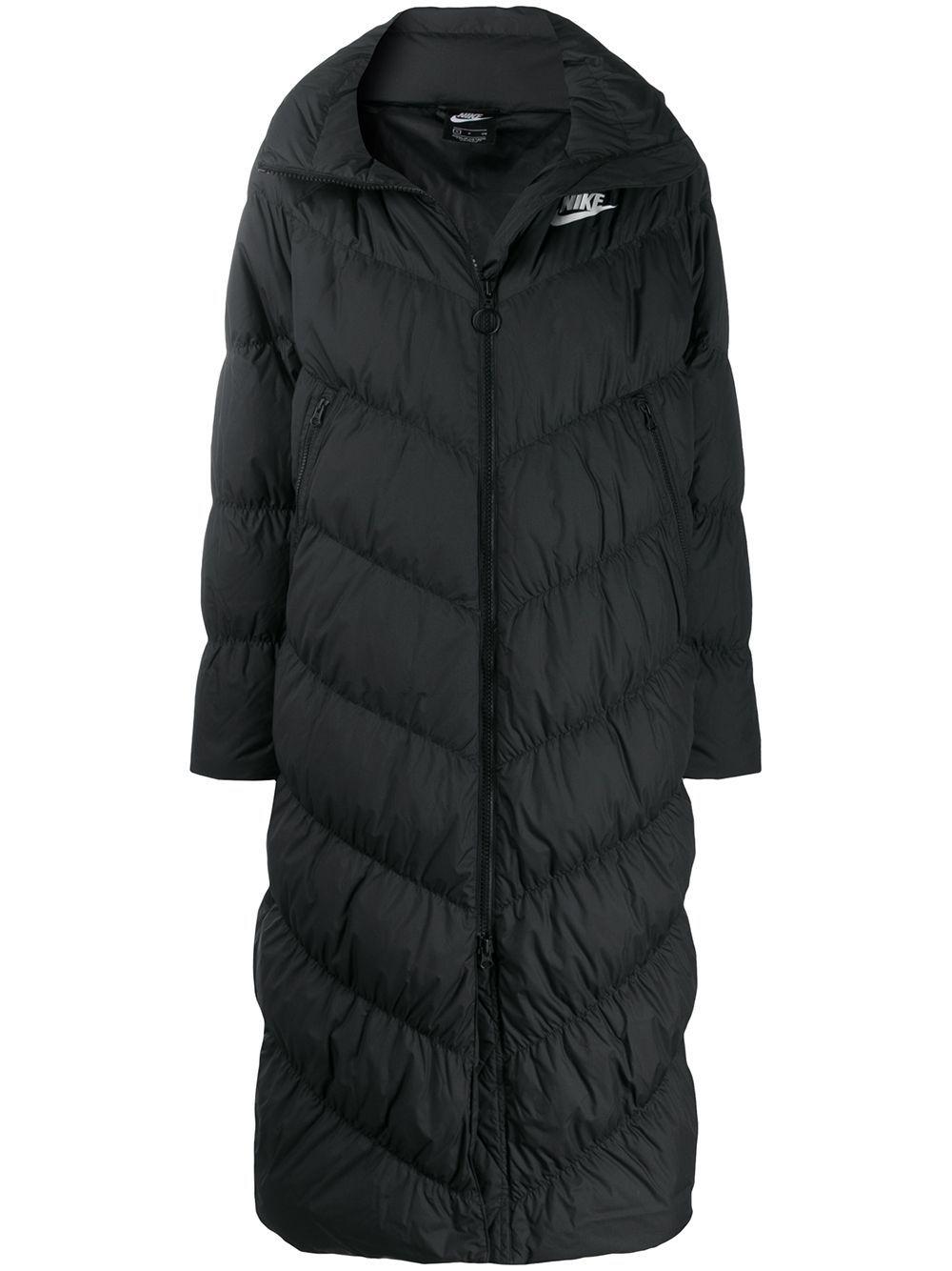Nike Long Logo Puffer Coat Nike Cloth Puffer Coat Long Puffer Coat Nike Winter Jackets [ jpg ]