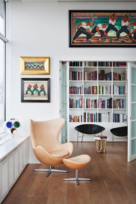 15 Home Library Design Ideas Creating Spectacular Accent Walls ...