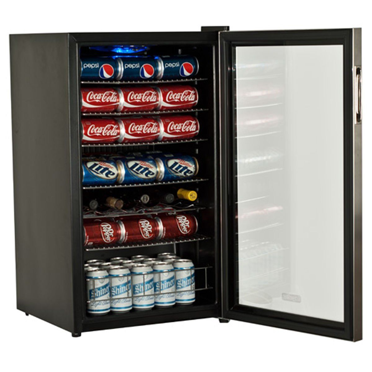 Supreme Cold Metal Stainless Steel Beverage Cooler Sold Silver