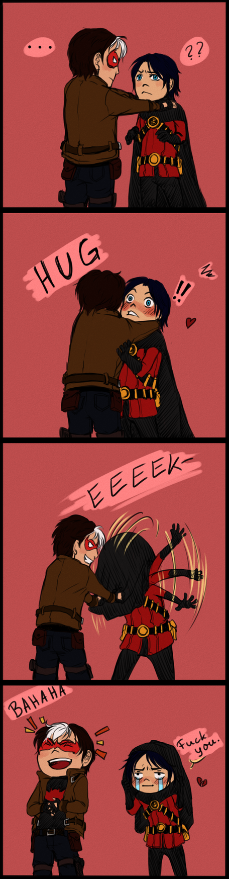 You fell for it. again. / JayTim by nightmarez0mbie