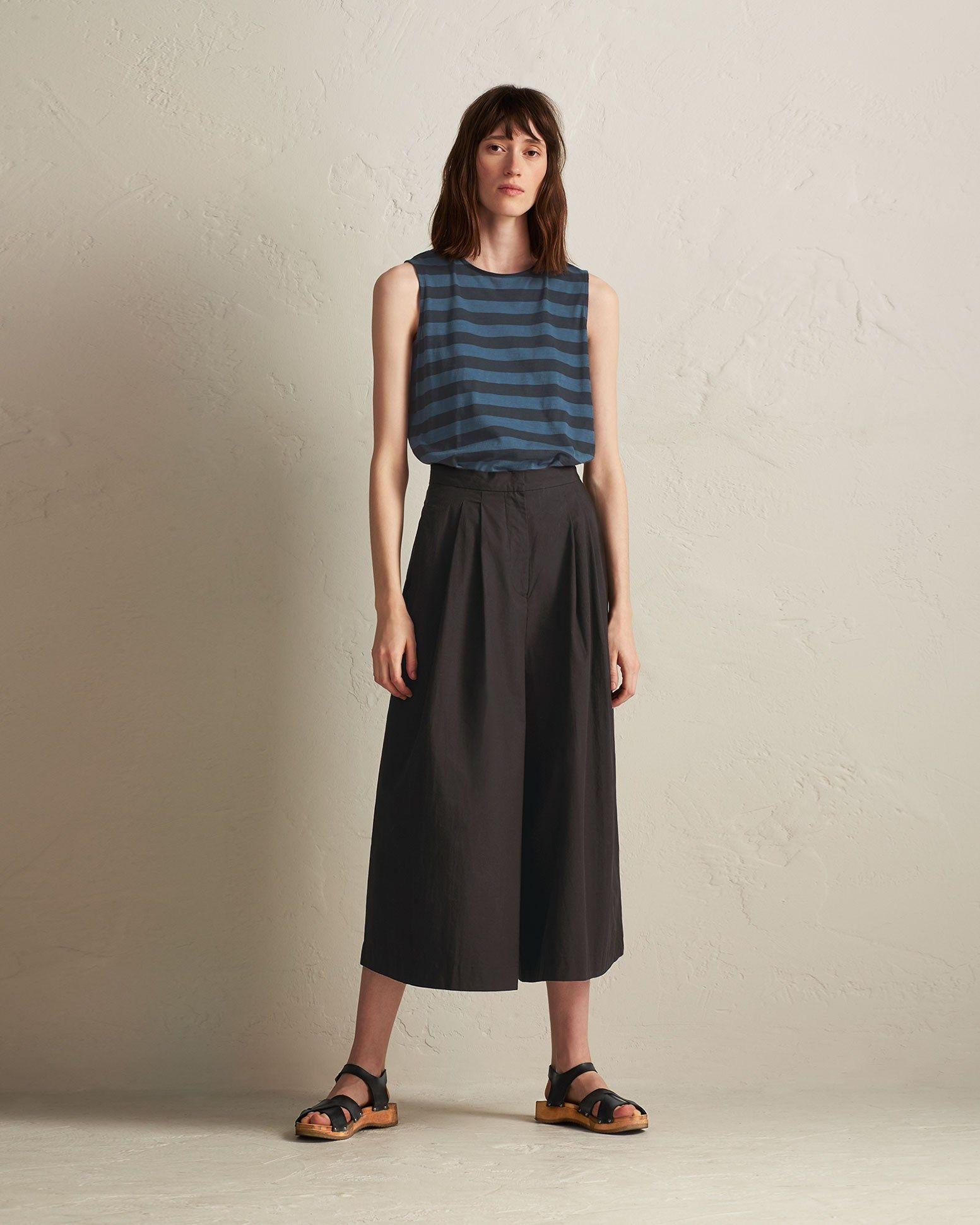 ca0d2f0074 COTTON POPLIN CULOTTE Poplin, Short Skirts, Fashion Forward, Crisp, Midi  Skirt,