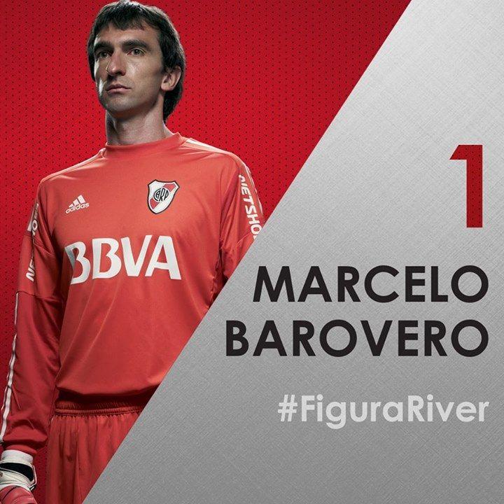 Marcelo Barovero fue elegido por los hinchas de River como la figura en la victoria 2-1 sobre Argentinos Juniors, en La Paternal Para Trapito, la Selección!!!