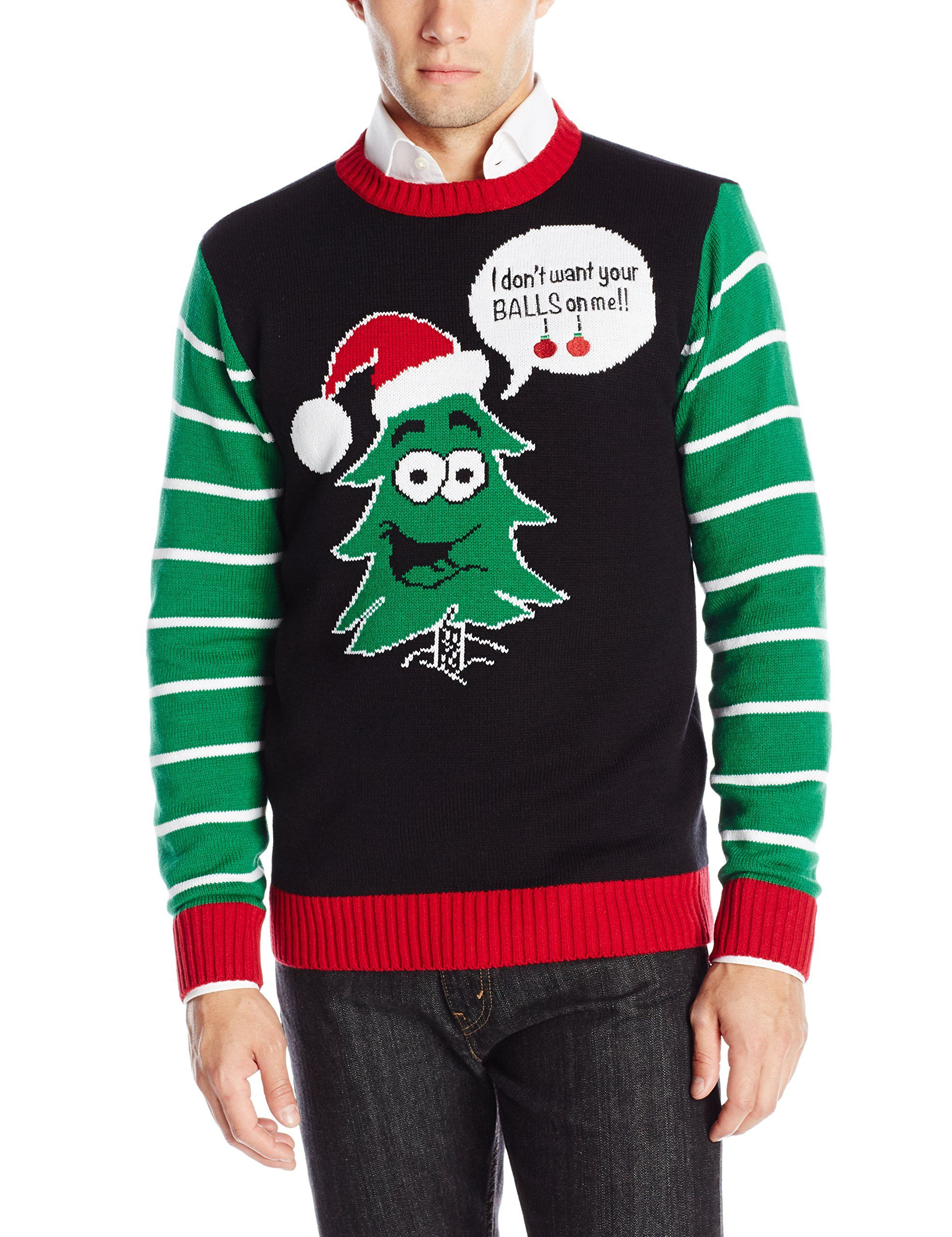 d633487ec Ugly Christmas Sweater Men s Balls