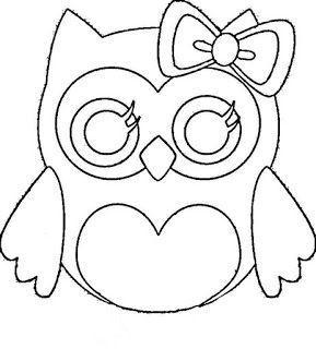 Pin Von Nicole Weber Auf Owls Eule Schablone 12