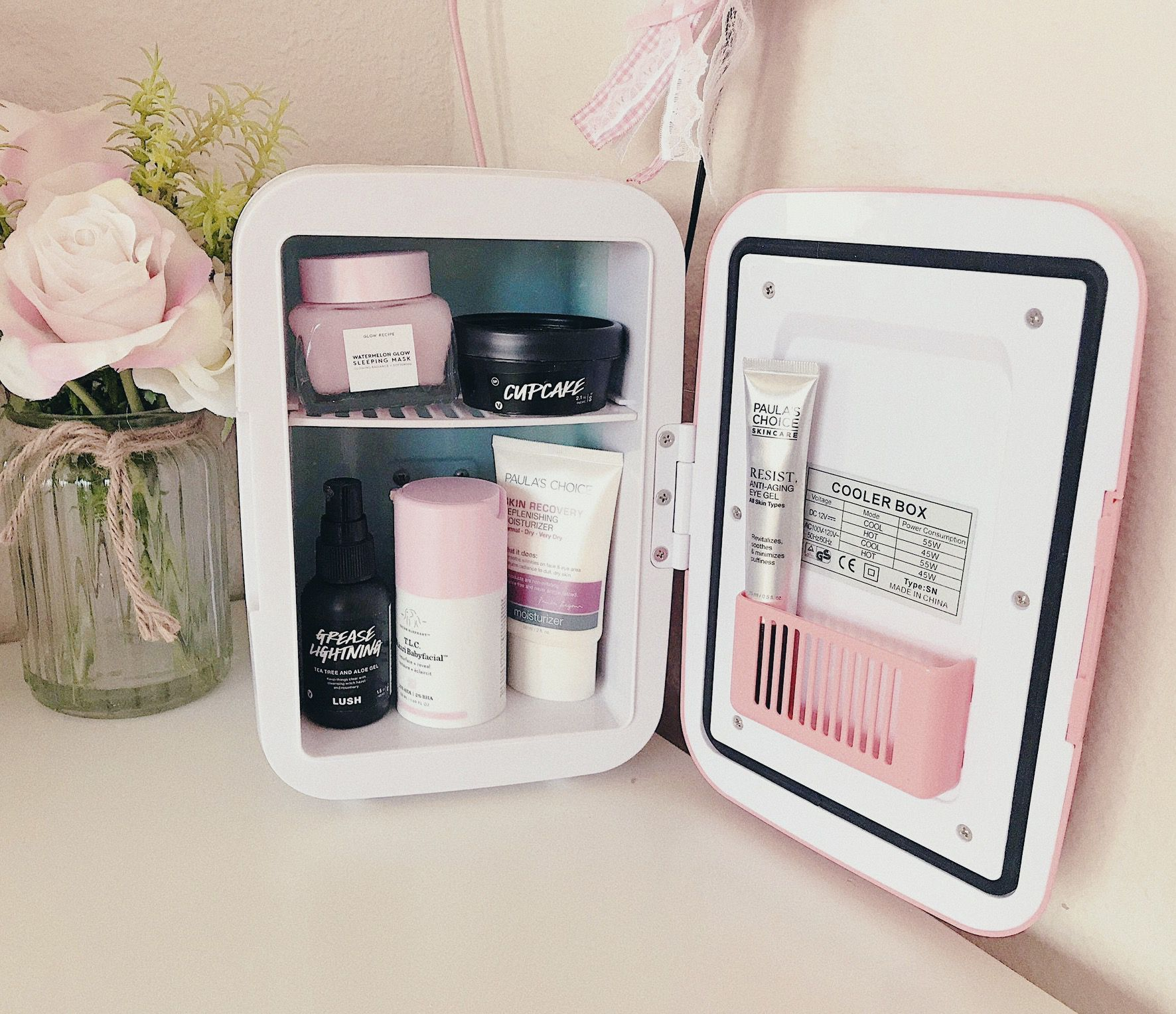 Hautpflege Kühlschrank !! korfyy skincare fridge in 2020
