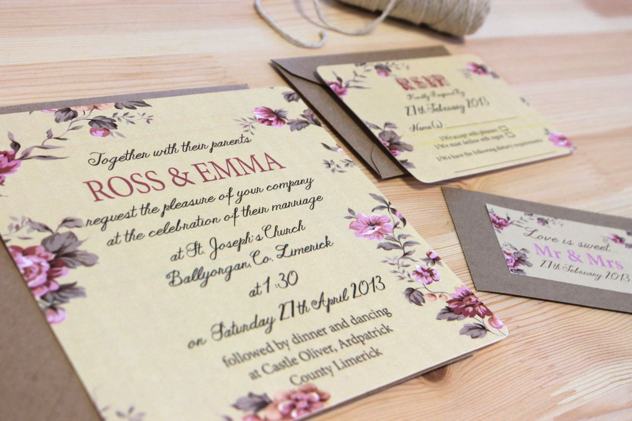 English Rose by theparlourpress.com | Invitations | Pinterest ...