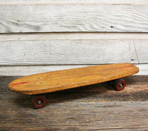 Skateboard Vintage Roller Derby