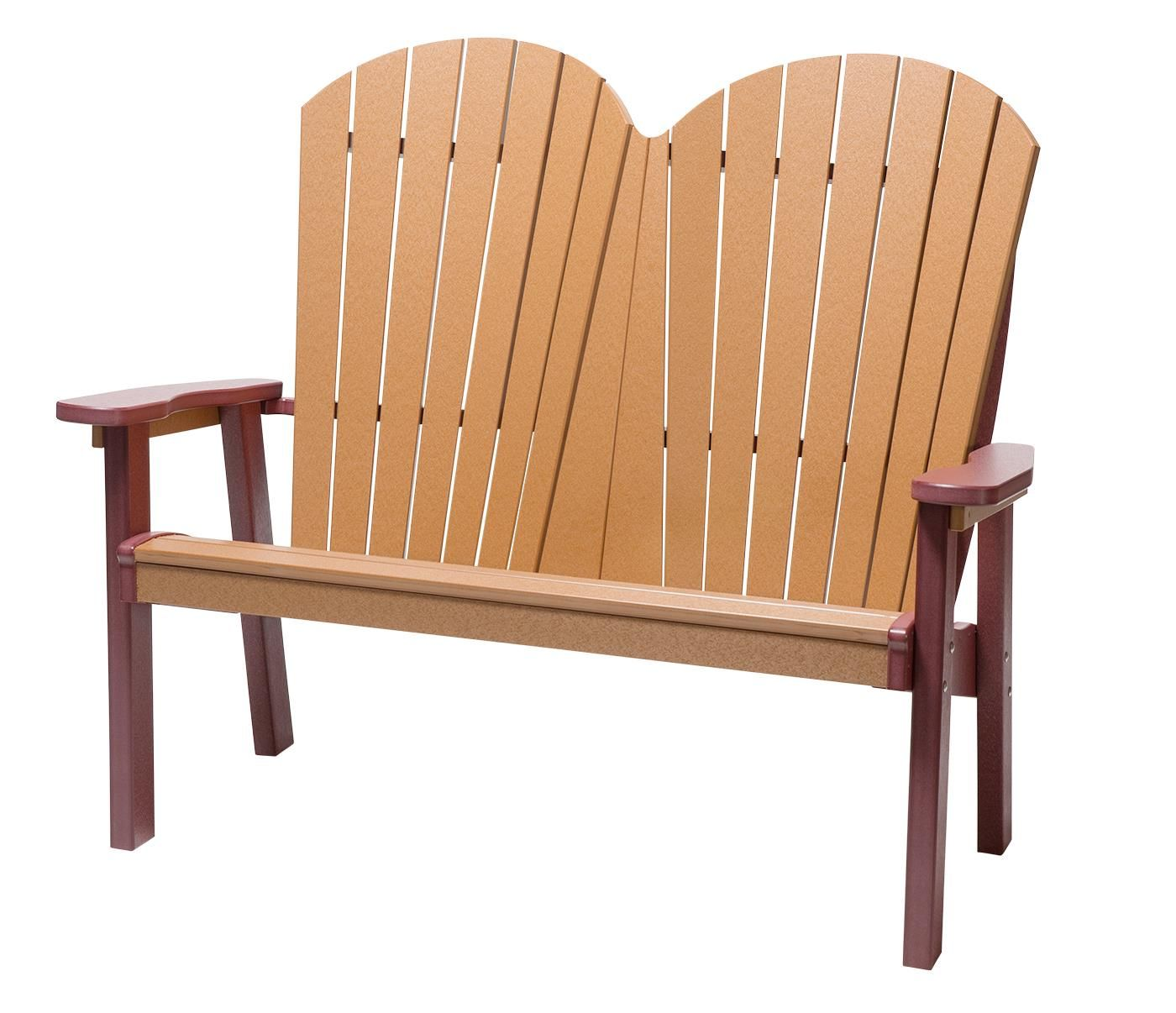 Finch Seaaira Poly Adirondack Bench Poly Outdoor Furniture