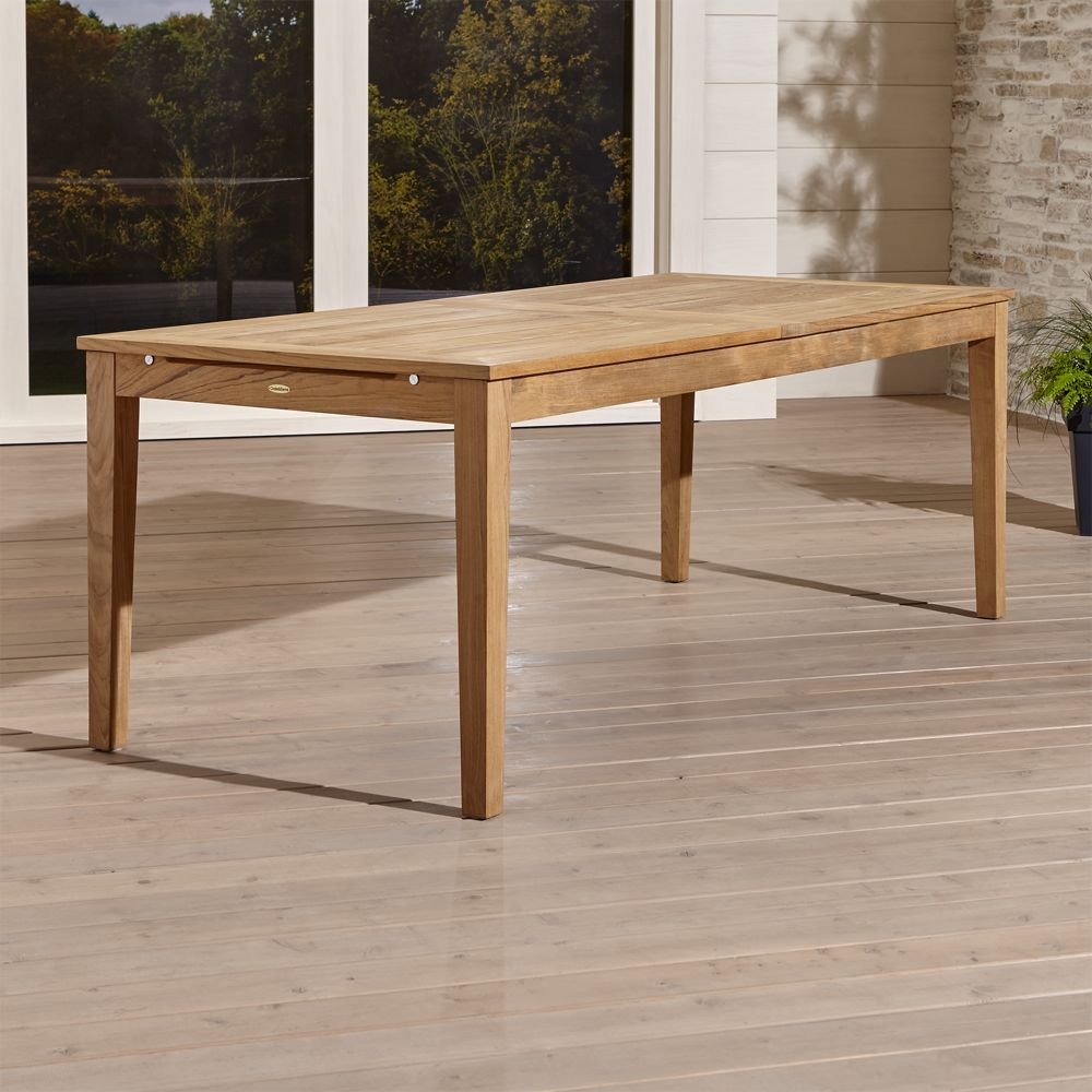 Regatta Outdoor Extension Dining Table Reviews Crate And