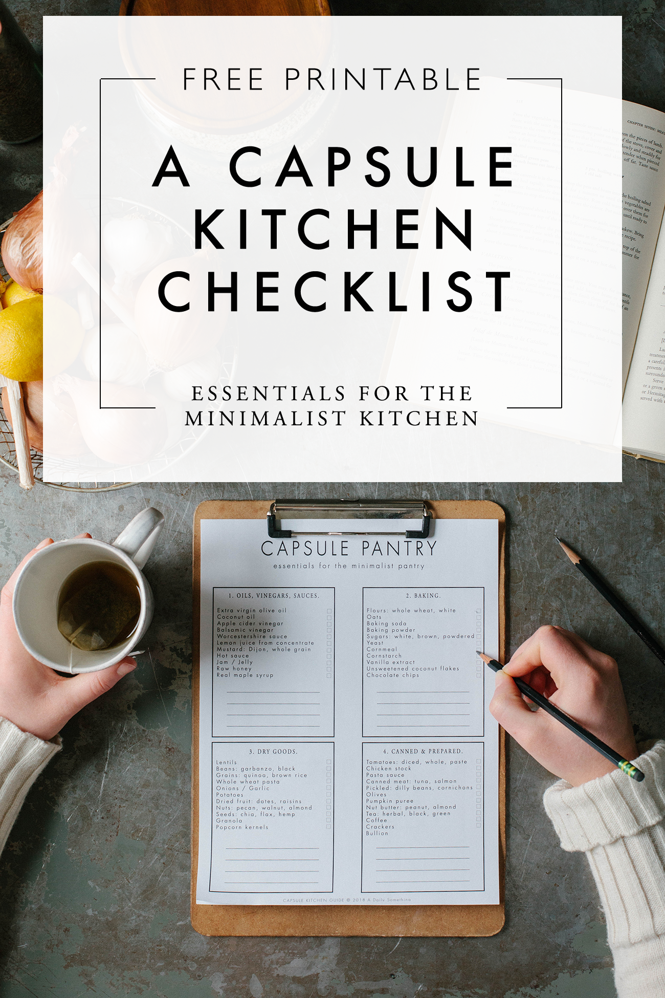 A Capsule Kitchen | Minimalist, Organizations and Kitchens
